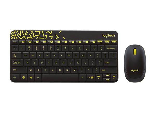 Logitech MK240 NANO, RF Wireless, Haus, Türkisch, Kabellos, Notebook, Standard