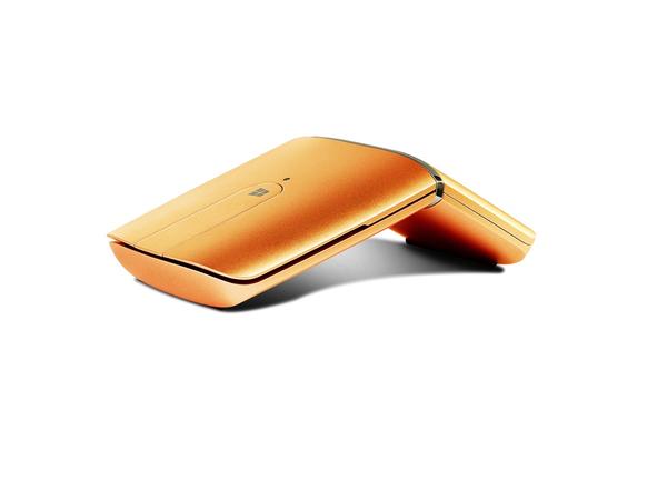 Lenovo Yoga Mouse - Maus/Fernbedienung - optisch - 4 Tasten - drahtlos - 2.4 GHz, Bluetooth 4.0