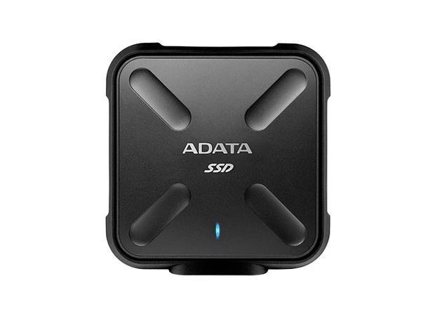 ADATA Durable SD700 - Solid-State-Disk - 512 GB - extern (tragbar) - USB 3.1 Gen1 - Schwarz