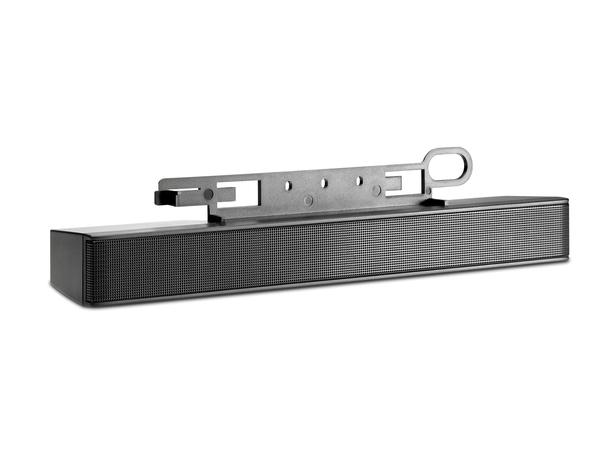 HP LCD Speaker Bar - Lautsprecher - für HP 100, LA1905, LA22, LE19, ZR22, ZR24, ZR30; DreamColor LP2480; Smart Zero Client t410