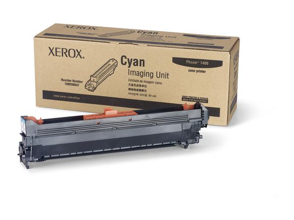 Xerox - Cyan - Druckerbildeinheit - für Phaser 7400