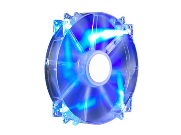 Lüfter CoolerMaster MegaFlow 200mm Blue LED retail