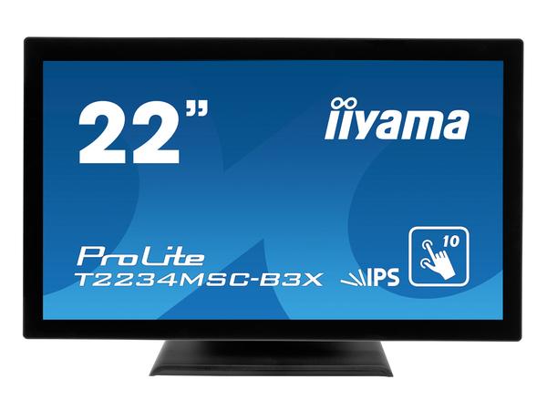 Iiyama ProLite T2234MSC-B3X - LED-Monitor - 55.9 cm (22