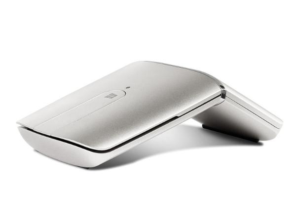 Lenovo Yoga Mouse - Maus/Fernbedienung - optisch - drahtlos - 2.4 GHz, Bluetooth 4.0 - kabelloser Empfänger (USB)