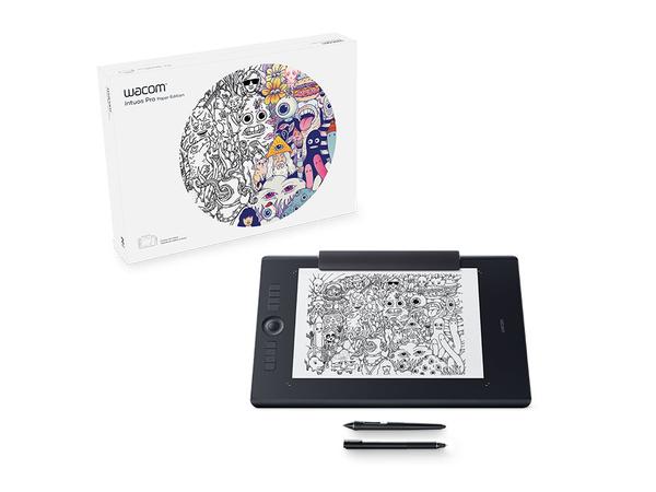 Wacom Intuos Pro Paper Edition Large - Digitalisierer - 31.1 x 21.6 cm - Multi-Touch - elektromagnetisch - drahtlos, verkabelt