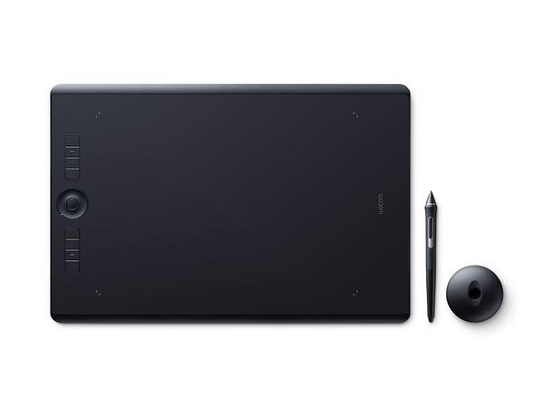 Wacom Intuos Pro Large - Digitalisierer - 31.1 x 21.6 cm - Multi-Touch - elektromagnetisch - 8 Tasten