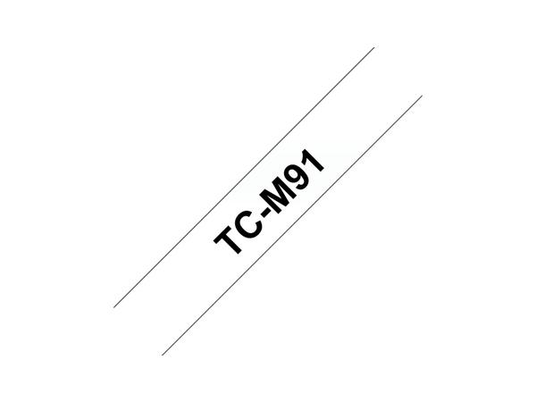 Brother TCM91 - Matt - 9 mm x schwarz auf durchsichtig - Band - für P-Touch PT-2000, PT-3000, PT-500, PT-5000, PT-8E