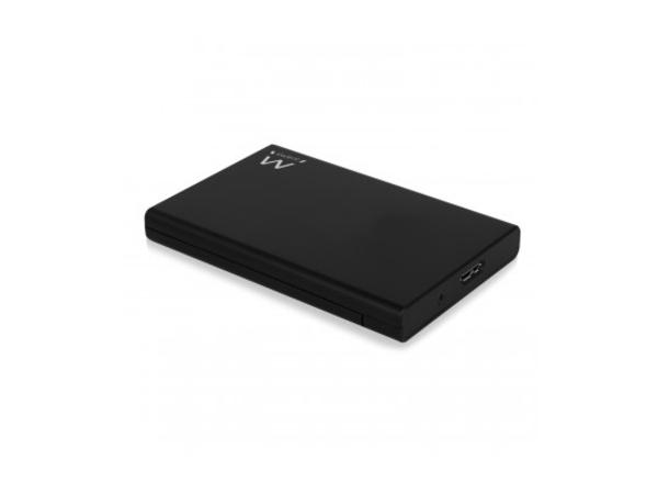 Ewent EW7044, 2.5 Zoll, Serial ATA III, 9.5 mm, 3.0 (3.1 Gen 1), USB Type-B, HDD / SSD-Gehäuse