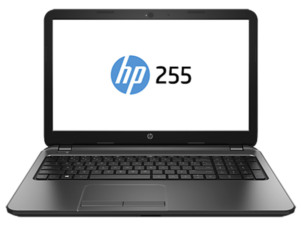 HP 255 G5, Schwarz, Notebook, Klappgehäuse, 39,6 cm (15.6 Zoll), 1920 x 1080 Pixel, Full HD