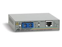 Allied Telesis AT MC103LH - Medienkonverter - Fast Ethernet - 100Base-FX, 100Base-TX - SC Einzelmodus / RJ-45 - bis zu 40 km
