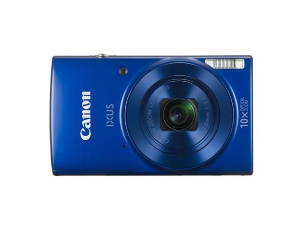 Canon IXUS 190 - Digitalkamera - Kompaktkamera - 20.0 MPix - 720p / 25 BpS - 10x optischer Zoom