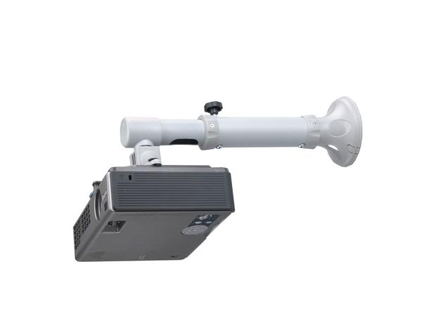NewStar Universal Projector Wall Mount (Ultra Short Throw) BEAMER-W050SILVER - Wandhalterung für Projektor (neig- und schwenkbar) - Silber