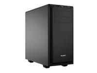 be quiet! PURE BASE 600 - Tower - ATX - ohne Netzteil (ATX / PS/2) - Schwarz - USB/Audio