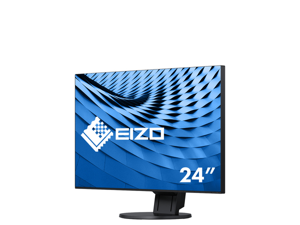 EIZO FlexScan EV2451, 60,5 cm (23.8 Zoll), 1920 x 1080 Pixel, Full HD, 5 ms, 250 cd/m², Schwarz