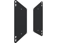 Iiyama - Befestigungskit (2 Adapterplatten) für floor lift - Schwarz