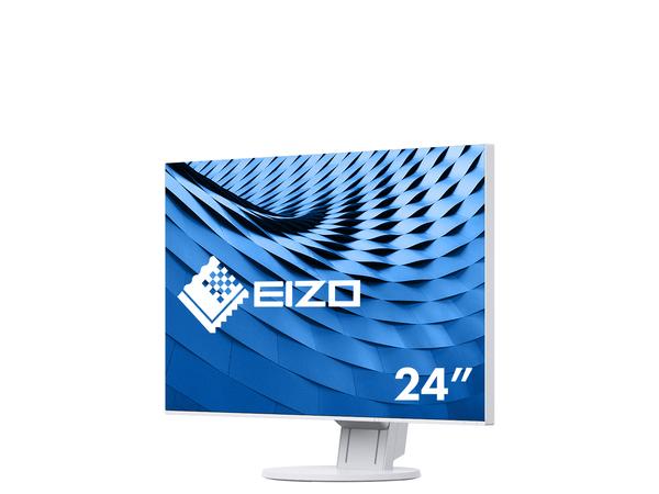 EIZO FlexScan EV2451, 60,5 cm (23.8 Zoll), 1920 x 1080 Pixel, LED, 5 ms, 250 cd/m², Weiß