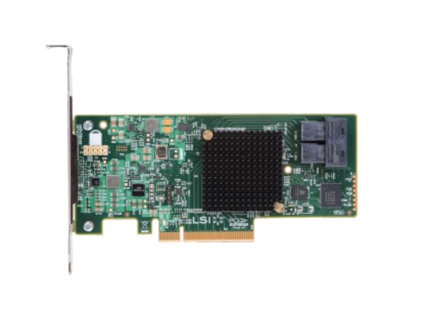 Intel RAID Controller RS3UC080J - Speichercontroller (RAID) - 8 Sender/Kanal - SATA 6Gb/s / SAS 12Gb/s Low Profile - 6 GBps - RAID 0, 1, 10, JBOD, 1E