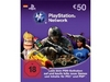 PlayStation Network Card (50 Euro)