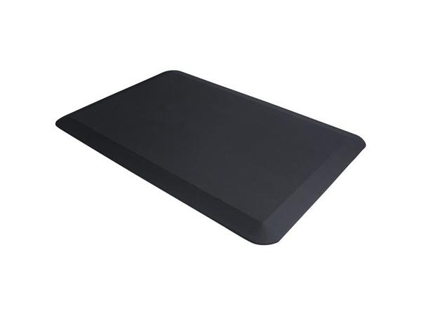StarTech.com Ergonomische Anti-Ermüdungsmatte für Steh-Schreibtische, Rechteckig, Schwarz, Polyurethan, weich, 508 x 762 mm, 1,2 kg