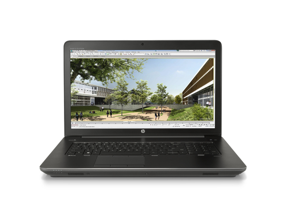 HP ZBook 17 G3, Schwarz, Mobiler Arbeitsplatz, Klappgehäuse, 2,6 GHz, Intel® CoreTM i7 der sechsten Generation, i7-6700HQ