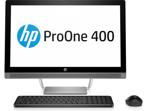 HP ProOne 440 G3 - All-in-One (Komplettlösung) - 1 x Core i3 7100T / 3.4 GHz - RAM 4 GB - HDD 500 GB - DVD SuperMulti