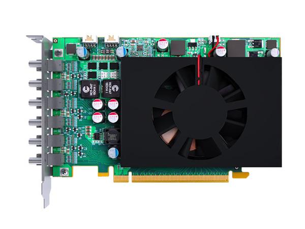 Matrox C680 - Grafikkarten - 4 GB GDDR5 - PCIe 3.0 x16 - 6 x Mini DisplayPort