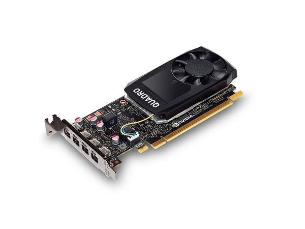 NVIDIA Quadro P1000 - Grafikkarten - Quadro P1000 - 4 GB - PCIe x16 - 4 x Mini DisplayPort