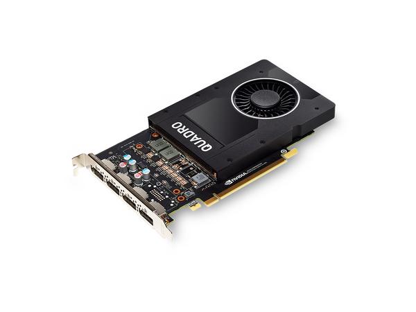 NVIDIA QUADRO P2000 - Grafikkarten - Quadro P2000 - 5 GB - PCIe x16 - 4 x DisplayPort