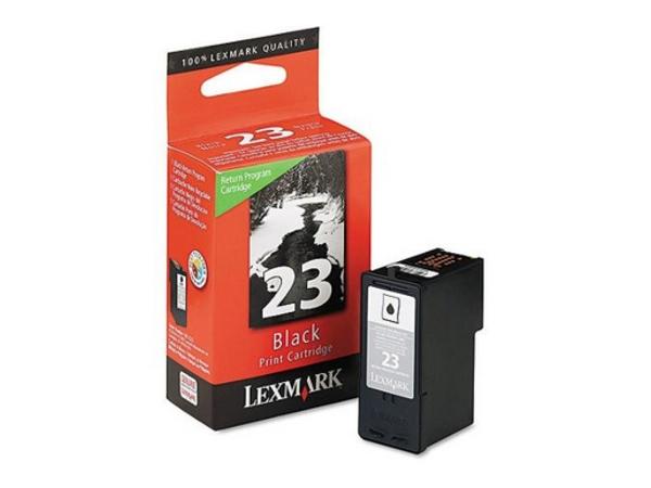 Lexmark Cartridge No. 23 - Schwarz - Original - Tintenpatrone LRP - für X3530, 3550, 4530, 4550; Z1410, 1420