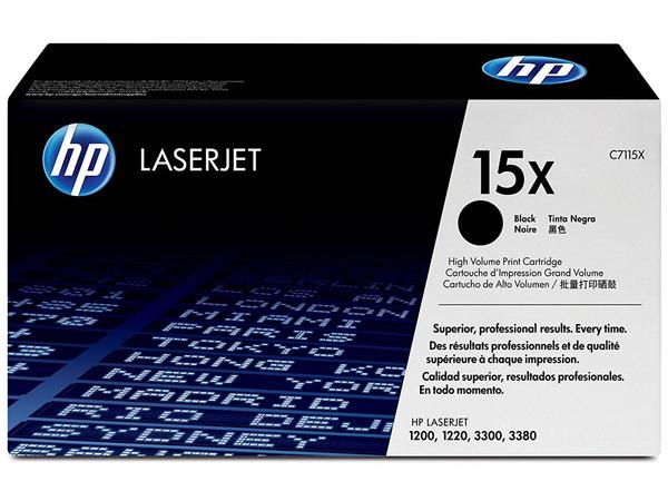 HP 15X - Hohe Ergiebigkeit - Schwarz - Original - LaserJet - Tonerpatrone (C7115X)