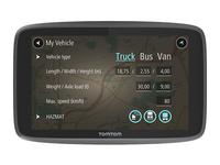 TomTom GO PROFESSIONAL 6200, Ganz Europa, 15,2 cm (6 Zoll), 800 x 480 Pixel, 154 ppi, Flash, MicroSD (TransFlash)