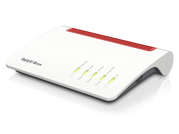 AVM FRITZ!Box 7590 - Wireless Router - DSL-Modem - 4-Port-Switch - GigE - 802.11a/b/g/n/ac