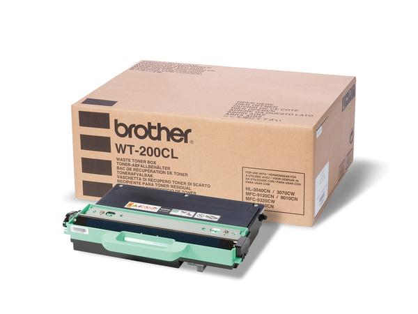 Toner- Abfallbehälter / WT200CL / für ca. 50.000 Seiten / bei 5%Deckung, je 1CMYK