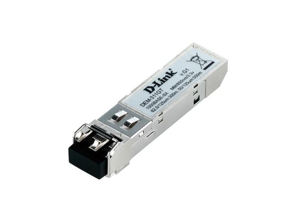 D-Link DEM-311GT, 1000BASE-SX, 0 - 40 °C, -40 - 85 °C, 29,8 x 11,8 x 56,3 mm