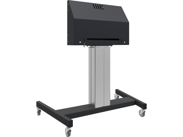 iiyama MD 062B7275 A, Schwarz, Portable flat panel floor stand, 2,13 m (84 Zoll), Öffentliches Display, 120 kg, 600 x 400 mm
