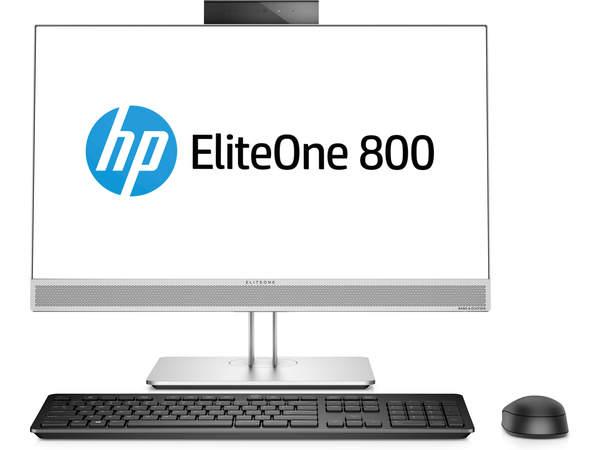 HP EliteOne EliteOne 800 G3 All-in-One-PC mit 23,8 Zoll Diagonale, ohne Touch-Funktion, 60,5 cm (23.8 Zoll), 1920 x 1080 Pixel, Full HD, Flach, 16:9, 3,6 GHz