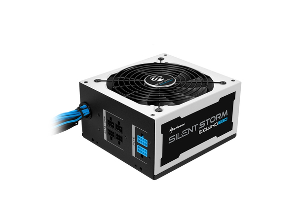 Sharkoon SilentStorm Icewind 650W, 650 W, 115 - 230, 50 - 60 Hz, Aktiv, 105 W, 650 W