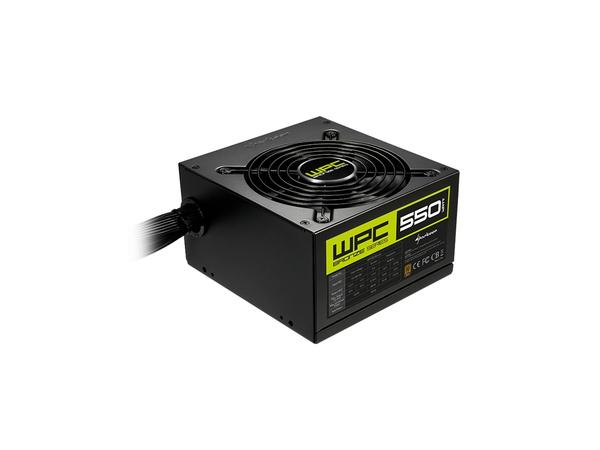 Sharkoon WPC Bronze 550W, 550 W, 115 - 230, 50 - 60 Hz, Aktiv, 120 W, 495 W
