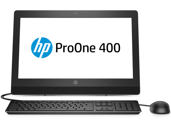 HP ProOne ProOne 400 G3 All-in-One-PC mit 20 Zoll Diagonale, ohne Touch-Funktion, 50,8 cm (20 Zoll), 1600 x 900 Pixel, HD+, Flach, 16:9, 3,4 GHz