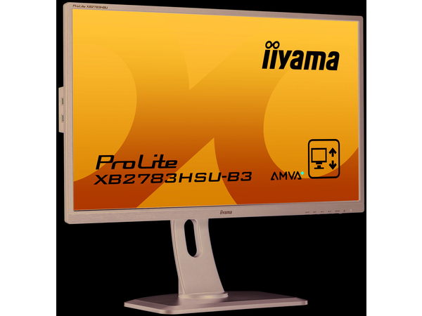 iiyama ProLite XB2783HSU-B3, 68,6 cm (27 Zoll), 1920 x 1080 Pixel, LED, 4 ms, 300 cd/m², Schwarz