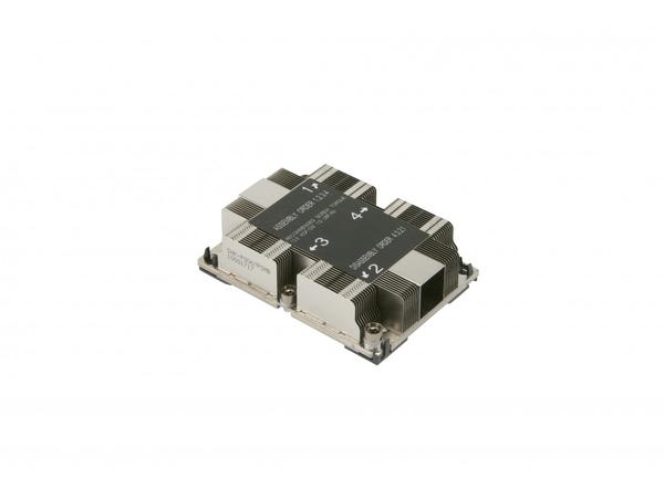 Supermicro - Prozessorkühler - (Socket P) - 1U - für SUPERMICRO X11DDW-L, X11DDW-NT