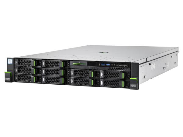 Fujitsu PRIMERGY RX2540 M4, 2,1 GHz, 4110, 16 GB, DDR4-SDRAM, 450 W, Rack (2U)