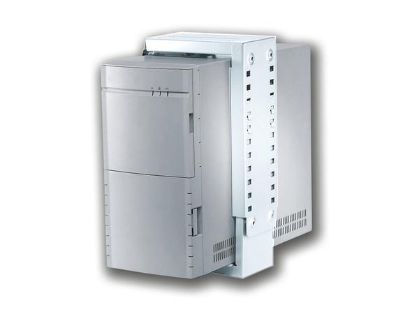 NewStar CPU mount CPU-D100WHITE - Halterung für Systemeinheit - unter Tisch montierbar - weiß