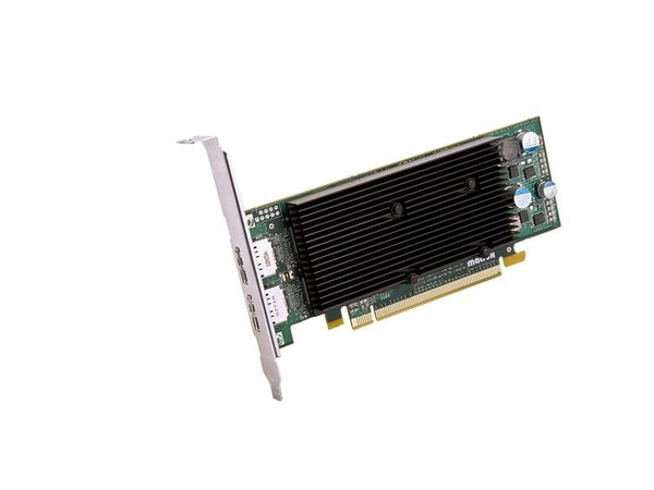 Matrox M9128 LP - Grafikkarten - M9128 - 1 GB DDR2 - PCIe x16 Low Profile - 2 x DisplayPort