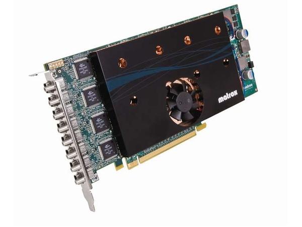Matrox M9188 - Grafikkarten - M9188 - 2 GB DDR2 - PCIe x16 - 8 x Mini DisplayPort