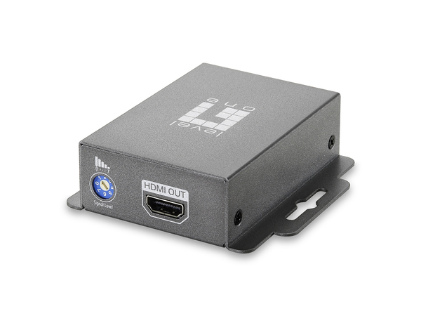 LevelOne HDSpider HVE-9000 HDMI Cat.5 Receiver (Long) - Video Extender - HDMI - bis zu 60 m
