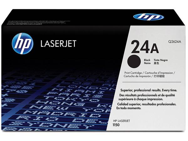HP 24A - Schwarz - Original - LaserJet - Tonerpatrone (Q2624A) - für LaserJet 1150