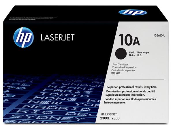 HP 10A - Schwarz - Original - LaserJet - Tonerpatrone (Q2610A) - für LaserJet 2300, 2300d, 2300dn, 2300dtn, 2300l, 2300n