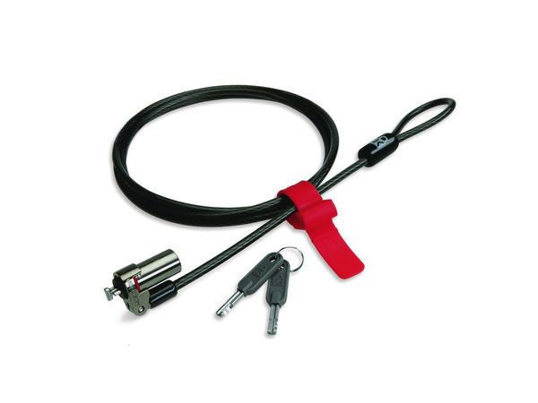 Kensington MicroSaver DS Keyed Ultra-Thin Notebook Lock - Sicherheitskit für tragbares Gerät - 1.5 m - für ESPRIMO D556, D956, D957, D957/E94, P556, P756, P756 E94, P956/E94, P957, Q520, Q956,