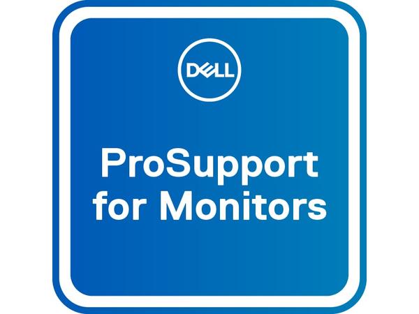 Dell 3Y AE > 3Y ProSupport AE - Upgrade from [3 years Advanced Exchange] to [3 years ProSupport Advanced Exchange] - Serviceerweiterung - Austausch - 3 Jahre - Lieferung